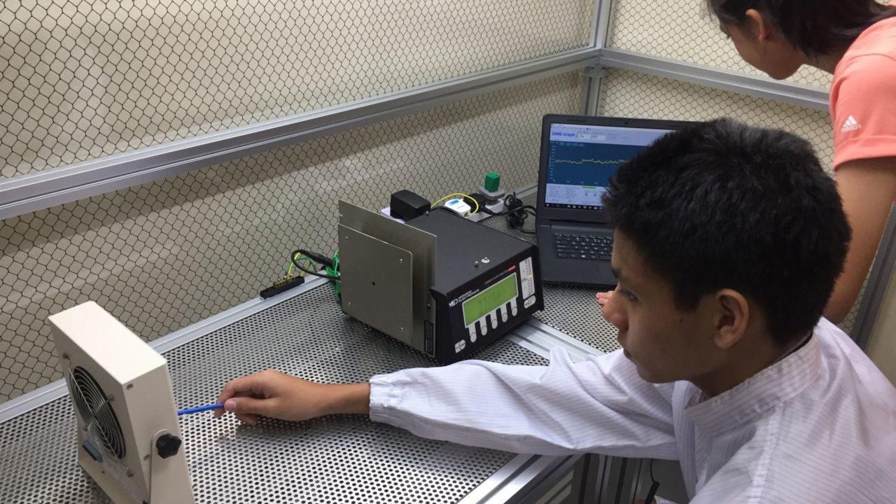 Testing Ionizer
