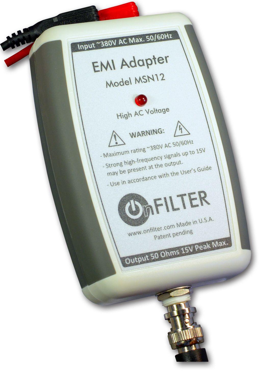 MSN12 Handheld EMI Adapter LoRes
